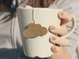 Sachets de thé en forme de nuage doré:  de style  par Tea Heritage
