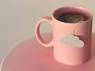 Sachets de thé en forme de nuage argenté:  de style  par Tea Heritage