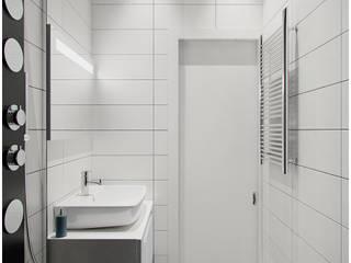 2-х комнатная квартира в Москве. Ванная Ванная комната в стиле минимализм от Rustem Urazmetov Минимализм