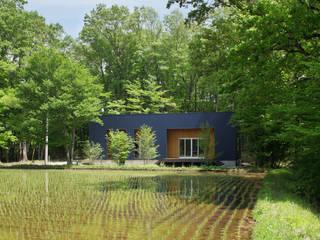 Villa in Nasu 久保田章敬建築研究所 Modern Houses