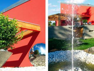 Jardines de estilo  por Fiorenzobellina-lab, Moderno