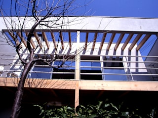 House in Yurigaoka 久保田章敬建築研究所 Modern Terrace