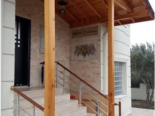 Modern corridor, hallway & stairs by Hiba iç mimarik Modern