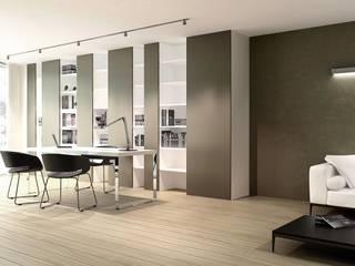 ASA Autorskie Studio Architektury Minimalistische Arbeitszimmer