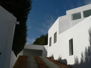 vivienda unifamiliar en Torrent Casas de estilo mediterráneo de aguilar avila studio Mediterráneo