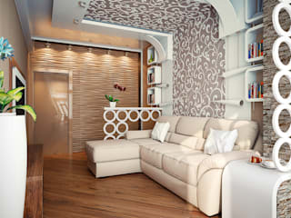 Комната: Гостиная в . Автор – Инна Михайская,