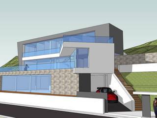 vivienda unifamiliar aislada en Monte Picayo Casas de estilo moderno de aguilar avila studio Moderno