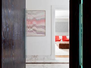 VNC APARTAMENTO Noura van Dijk Interior Design Corredores, halls e escadas modernos