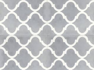 Płytki cementowe nr 2382: styl , w kategorii Ściany i podłogi zaprojektowany przez Rogiński Warsztat Artystyczny - DomRustykalny.pl,