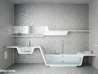 Bagno in stile Bagno moderno di Diego Canale Moderno