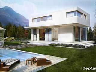 Residenziale privato Case in stile minimalista di Diego Canale Minimalista