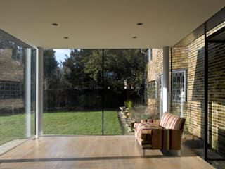 Storey's Way Modern living room by Hudson Architects Modern