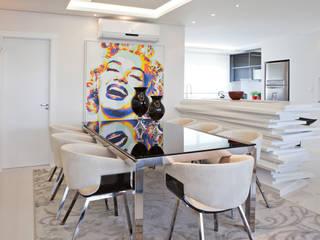 Projeto Residencial clean Salas de jantar modernas por Virtu Arquitetura Moderno