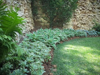 Rustic style garden by exTerra | Consulenze ambientali e Design nel verde Rustic