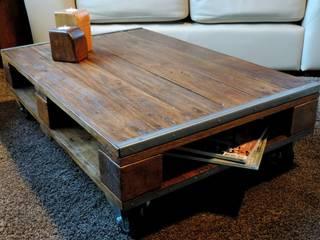 Table Palindus  (modèle 6 blocs):  de style  par Les Ateliers du PoM