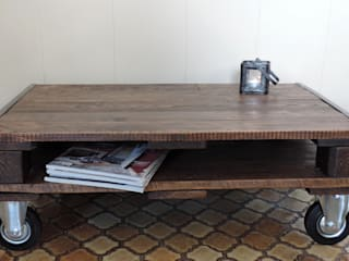 Table Palindus (Modèle 4 blocs):  de style  par Les Ateliers du PoM