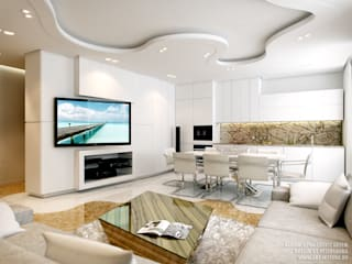 Дизайн квартиры на Есенина: Кухни в . Автор – ART-INTERNO,