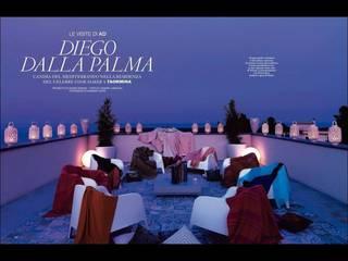 AD - Diego Dalla Palma, RESIDENZA PRIVATA TAORMINA Balcone, Veranda & Terrazza in stile moderno di DAVIDE GRASSO Architetto Moderno