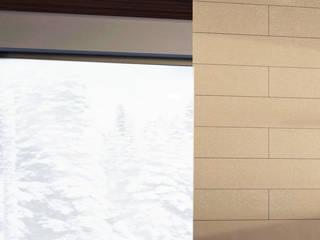 Minimalist corridor, hallway & stairs by Akuratnie Minimalist