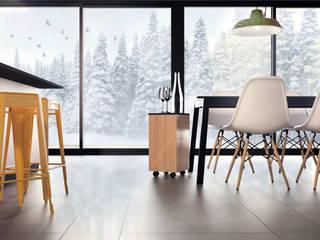 Minimalist dining room by Akuratnie Minimalist