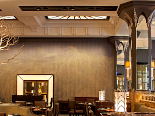 Fera at Claridge's Restaurant Lighting Design Classic style dining room by Lighting Design International Classic