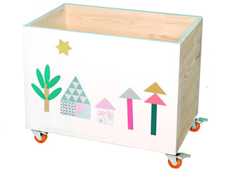 TOY CHEST 2 in 1 PLAY&ORGANIZE NOBOBOBO Nursery/kid's roomStorage
