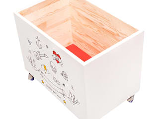 "Toy chest ""True love"" NOBOBOBO Nursery/kid's roomStorage"