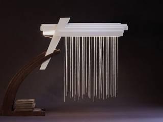 Bureau Lampen: modern  door atelier De Zondagse Kamer, Modern