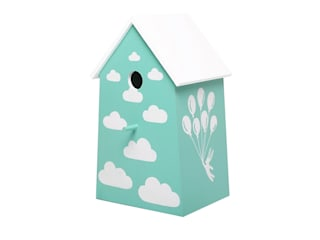 "Birdhouse lamp ""Up in the air"" de NOBOBOBO Moderno"