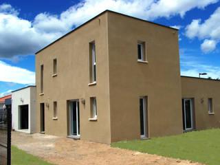 Valérie GARNIER Architecture Nowoczesne domy