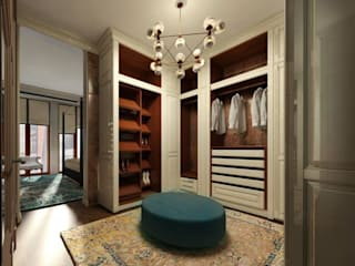 Eclectic style dressing rooms by KOSHKA INTERIORS Eclectic