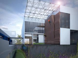 Gimnasios de estilo moderno de gOO Arquitectos Moderno