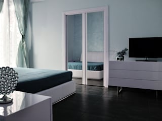Casa a Segni (Roma): Camera da letto in stile in stile Moderno di Bianca Coggi Architetto