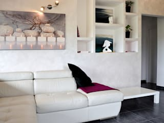 Casa a Segni (Roma): Soggiorno in stile in stile Moderno di Bianca Coggi Architetto