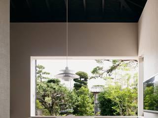 Jardines de estilo  por 島田義信建築設計事務所