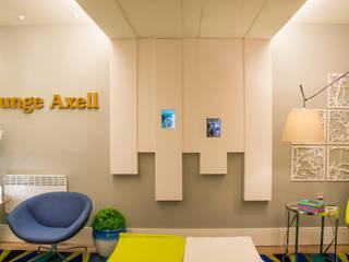 CASA COR RS 2014 Tania Bertolucci de Souza | Arquitetos Associados Salas de estar modernas