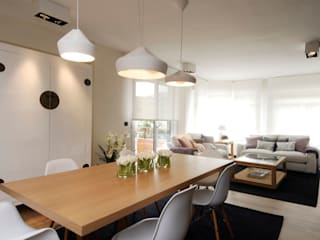 Livings de estilo  por Sube Susaeta Interiorismo