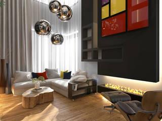 Livings de estilo minimalista de GM-interior Minimalista