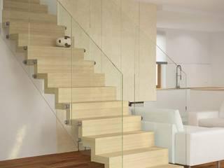 DOM W LUBLINIE: styl , w kategorii Korytarz, przedpokój zaprojektowany przez Kunkiewicz Architekci