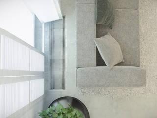 LOFT Z ANTRESOLĄ W LUBLINIE: styl , w kategorii Salon zaprojektowany przez Kunkiewicz Architekci