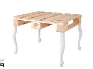 Fabryka Palet 客廳邊桌與托盤