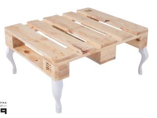 Stolik PALLE od Fabryka Palet Minimalistyczny