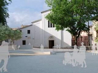 Piazza del Rosario di ArchCGstudio - Elaborazioni in Computer Grafica per l'Architettura Rurale