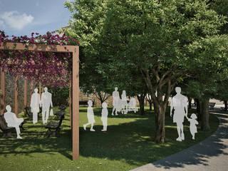 Piazza su Connottu di ArchCGstudio - Elaborazioni in Computer Grafica per l'Architettura Rurale