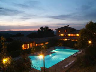 Casas de estilo  de Studio di Bioarchitettura Brozzetti Adriano, Rural