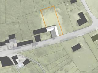 Réhabilitation d'une ancienne grange par APMS architectes Moderne