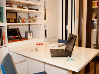 Espaço do Traço arquitetura Industrial style study/office