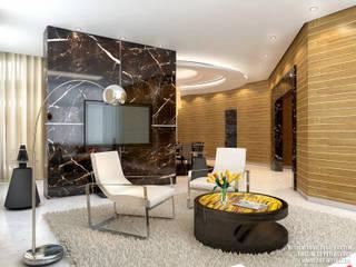 Дизайн квартиры на Морском проспекте д. 40: Гостиная в . Автор – ART-INTERNO,