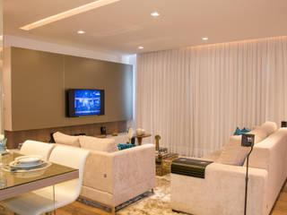 Modern living room by Bibiana Menegaz - Arquitetura de Atmosfera Modern