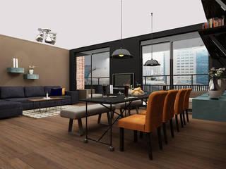 Salones de estilo moderno de Levenssfeer Moderno